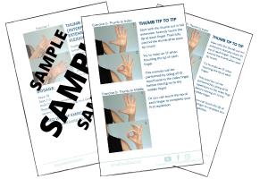Thumb Stiffness Worksheet Sample